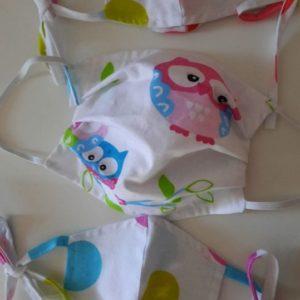 jednorazowe maseczki ochronne dla dzieci