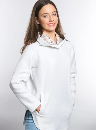 Bluza dresowa śnieżka