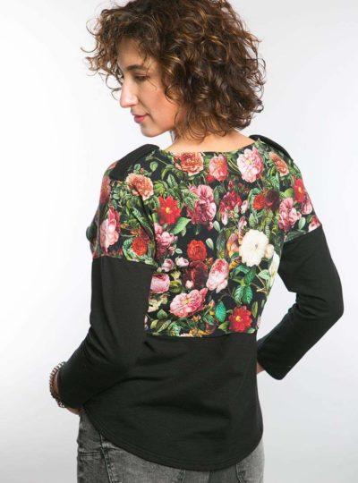 Bluza różana