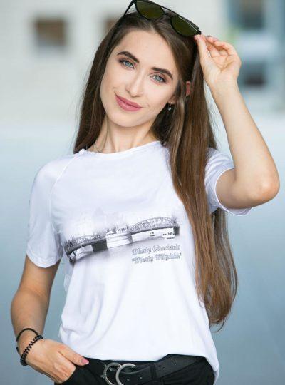 Koszulka z Mostami Młyńskimi